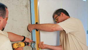 installing a basement wall finishing system in Ballwin