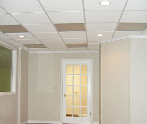 Basement Drop Ceiling Tiles Basement Ceiling Finishing in