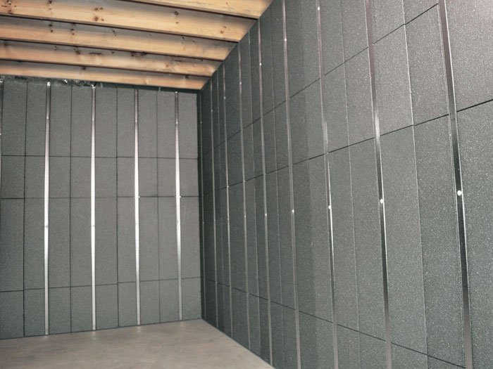 basement panels installed wall home depot diy removable do it yourself