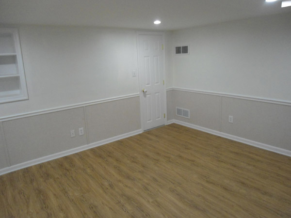 Finished Basement Walls. EverLast  Finished Wall Restoration provides a waterproof solution for damaged basement walls Basement In Belleville Florissant St Louis MO