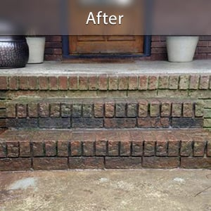 Sinking stairs repaired with PolyLevel® St. Louis