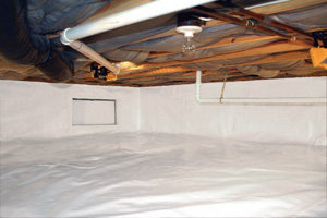 Crawl Space Repair After in Springfield