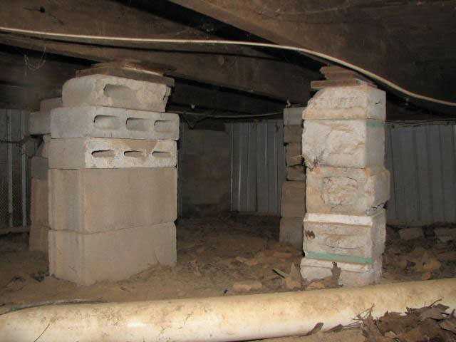 Sagging Crawl Space Problems In Illinois Amp Missouri