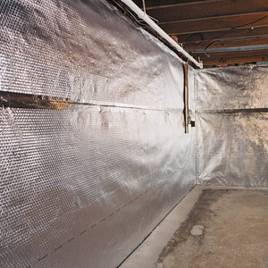 ThermalDry® Radiant Barrier Creates A Waterproof Radiant Heat Barrier On  Your Basement Walls. Its Reflective Surface Is Designed To Keep Heat Inside  Your ...