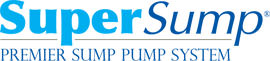 Logo for our SuperSump® Pump System, available in Florissant and other parts of Illinois & Missouri