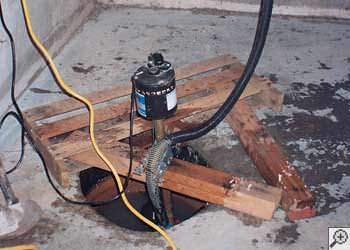 A Cape Girardeau sump pump system that failed and lead to a basement flood.