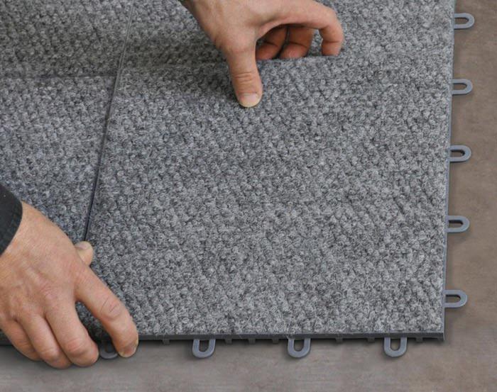 Basement Floor Tiles In Belleville Florissant O Fallon