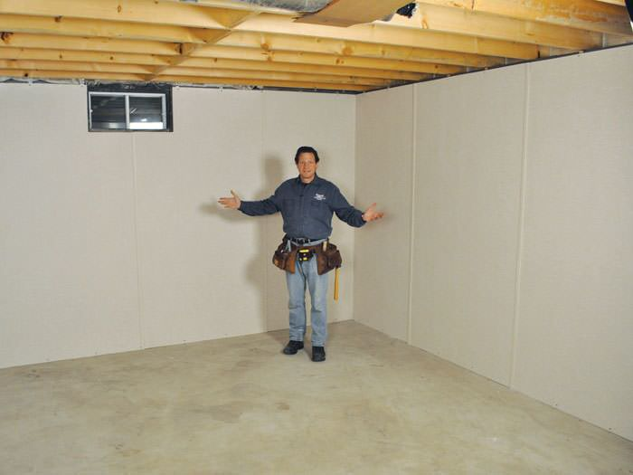 Inorganic basement wall panels in springfield by expert for Woods basement systems reviews