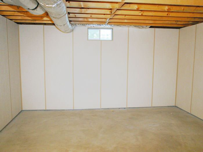 Insulated Basement Wall Panels Installed In Mo Amp Il